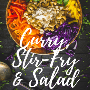 Curry & Stir fry & Salad- Takeaway